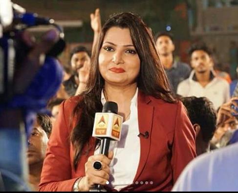 Chitra Tripathi Wiki Biography, Instagram, Husband {News Anchor}
